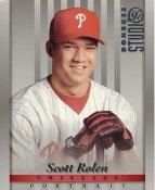 Scott Rolen LIMITED STOCK Philadelphia Phillies Donruss Studio 8X10 Photo