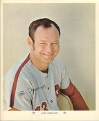 Joe Hoerner Original Stadium Souvenir With Stamped Signature Phillies 1971 Arco MLB 8X10 Photo