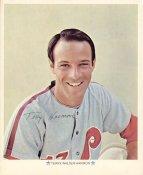 Terry Walter Harmon Original Stadium Souvenir With Stamped Signature Phillies 1971 Arco MLB 8X10 Photo