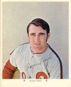 Roger Freed Original Stadium Souvenir With Stamped Signature Phillies 1971 Arco MLB 8X10 Photo
