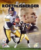 Ben Roethlisberger Collage Pittsburgh Steelers 8x10 Photo