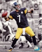 Ben Roethlisberger Spotlight Pittsburgh Steelers SATIN 8x10 Photo