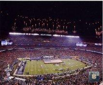N2  Metlife Stadium Super Bowl 48 Seahawks / Broncos SATIN 8X10 Photo