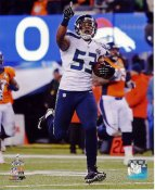 Malcolm Smith Super Bowl 48 TD Seattle Seahawks SATIN 8X10 Photo