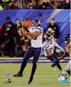 Malcolm Smith Super Bowl 48 Interception Seattle Seahawks SATIN 8X10 Photo