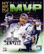 Malcolm Smith Super Bowl 48 MVP Seattle Seahawks SATIN 8X10 Photo