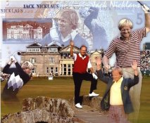 Jack Nicklaus Collage 8X10 Photo