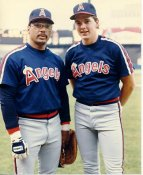 Wally Joyner & Reggie Jackson LIMITED STOCK Anaheim Angels 8x10 Photo