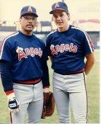 Wally Joyner & Reggie Jackson LIMITED STOCK Anaheim Angels 8x10 Photo