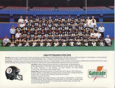 Steelers 1989 Pittsburgh Steelers Team Photo 8.5x11 Photo - LIMITED STOCK