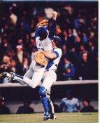 Steve Howe & Steve Yeager World Series Champs 1981 LA Dodgers Reversed Negative SUPER SALE 8X10 Photo