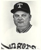 Don Zimmer Team Issue Photo Texas Rangers 8x10 Photo