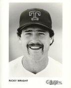Ricky Wright Team Issue Photo Texas Rangers 8x10 Photo