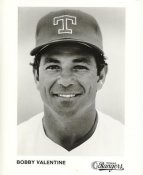 Bobby Valentine Team Issue Photo Texas Rangers 8x10 Photo