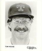 Tom House Team Issue Photo Texas Rangers 8x10 Photo