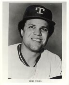 Bump Wills Team Issue Photo Texas Rangers 8x10 Photo