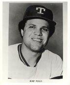 Bump Wills Team Issue Photo Texas Rangers 8x10 Photo