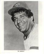 Pat Corrales Team Issue Photo Texas Rangers 8x10 Photo