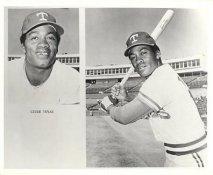 Cesar Tovar Team Issue Photo Texas Rangers 8x10 Photo