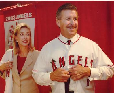 Arte Moreno LIMITED STOCK Anaheim Angels Manager 8X10 Photo