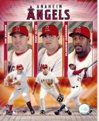 Tim Salmon, Troy Glaus, Vladimir Guerrero LIMITED STOCK Anaheim Angels 8X10 Photo