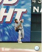 Johnny Damon LIMITED STOCK Oakland Athletics 8X10 Photo