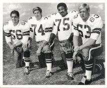 Bob Lilly, Larry Cole, Jethro Pugh, George Andrie 1960's Doomsday Defense LIMITED STOCK Dallas Cowboys 8X10 Photo
