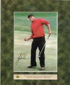 Tiger Woods SUPER SALE Upper Deck Glossy Photo Card 8X10 Photo
