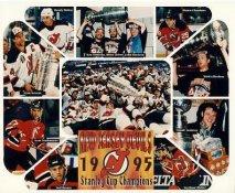 1995 Devils Martin Brodeur, Claude Lemieux, Scott Niedemayer, Randy McKay Stanley Cup Champs LIMITED STOCK New Jersey Devils 8x10 Photo