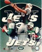Vinny Testaverde, Wayne Chrebet, Curtis Martin LIMITED STOCK New York Jets 8X10 Photo
