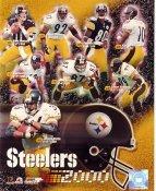 Pittsburgh Steelers 2000 Team Photo Kordell Stewart, Kent Graham, Jason Gildon, Dermontti Dawson, Jerome Bettis LIMITED STOCK 8x10 Photo