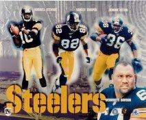 Kordell Stewart, Yancey Thigpen, Jerome Bettis, Dermontti Dawson LIMITED STOCK Pittsburgh Steelers 8x10 Photo