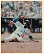 Jim Wynn Original Stadium Souvenir With Stamped Signature Dodgers 8X10 Photo