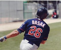 Chris Basak LIMITED STOCK Minnesota Twins 8X10 Photo