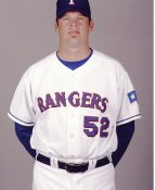 Kevin Millwood LIMITED STOCK Texas Rangers 8X10 Photo