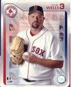 David Wells LIMITED STOCK Boston Red Sox 8X10 Photo