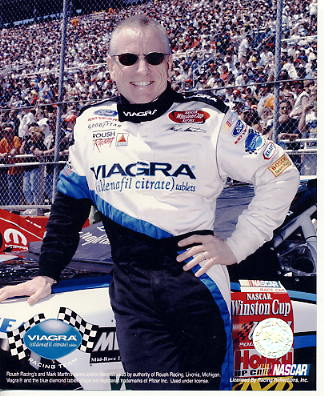 Mark Martin LIMITED STOCK 8X10 Photo