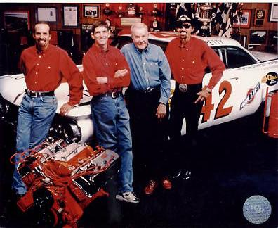 Kyle Petty, Adam Petty, Lee Petty, Richard Petty - Petty Family LIMITED STOCK 8X10 Photo