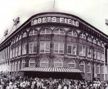E3 Ebbets Field Exterior Brooklyn Dodgers 8X10 Photo