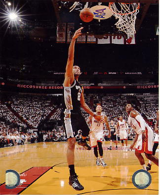 Tim Duncan 2014 NBA Finals Game 3 San Antonio Spurs SATIN 8X10 Photo LIMITED STOCK