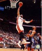 Dwyane Wade 2014 NBA Playoffs Miami Heat SATIN 8X10 Photo LIMITED STOCK