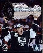 Tyler Toffoli w/ Stanley Cup 2014 Game 5 Los Angeles Kings SATIN 8x10 Photo