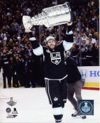 Mike Richards w/ Stanley Cup 2014 Game 5 Los Angeles Kings SATIN 8x10 Photo