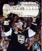 Alec Martinez w/ Stanley Cup 2014 Game 5 Los Angeles Kings SATIN 8x10 Photo