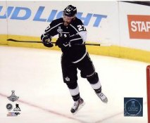 Alec Martinez Celebrates Game Winning Goal in OT Game 5 Stanley Cup 2014 Los Angeles Kings SATIN 8x10 Photo