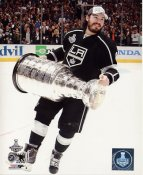 Drew Doughty w/ Stanley Cup 2014 Game 5 Los Angeles Kings SATIN 8x10 Photo