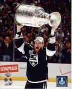 Jeff Carter w/ Stanley Cup 2014 Game 5 Los Angeles Kings SATIN 8x10 Photo