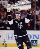 Justin Williams w/ Stanley Cup 2014 Game 5 Los Angeles Kings SATIN 8x10 Photo