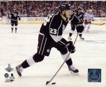 Dustin Brown Stanley Cup Finals 2014 Game 5 Los Angeles Kings SATIN 8x10 Photo