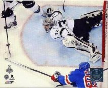 Jonathan Quick Stanley Cup Finals 2014 Game 3 Los Angeles Kings SATIN 8x10 Photo